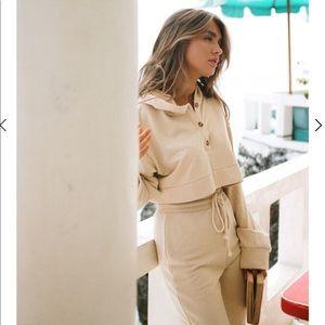 Sabo skirt sunny lounge pants and hoodie